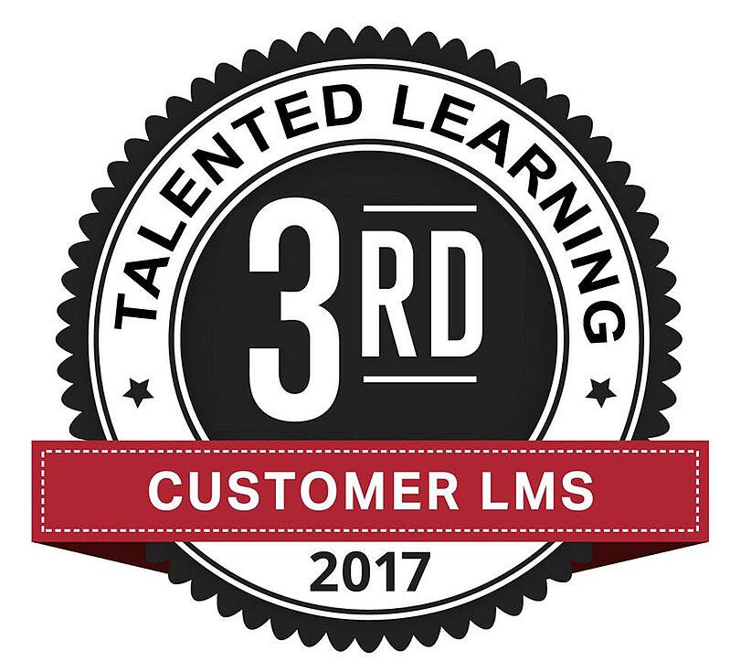 Learndot Earns Two: 2017 Talented Learning LMS Awards. WOW! Honored.
