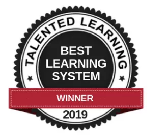 Learndot named a winner of the 2019 Best Learning Systems by Talented Learning!