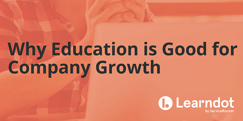 Why Education is Good for Company Growth