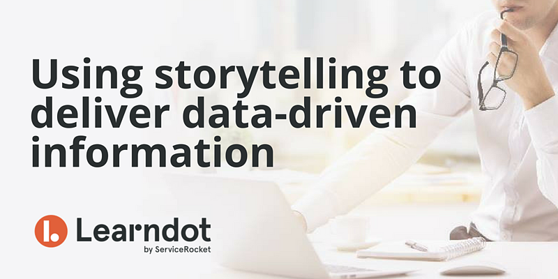 Using storytelling to deliver data-driven information